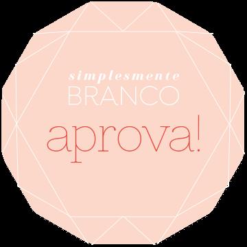 Selo de aprovação Simplesmente Branco